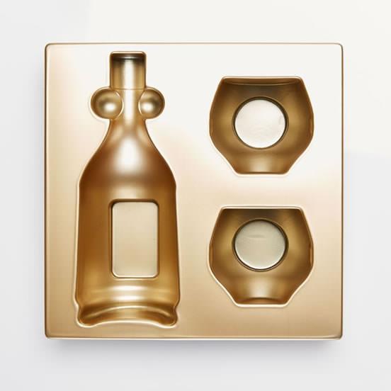 plateau thermoformé emballage cosmétique