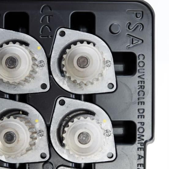 plateau thermoformé pour manutention automatique