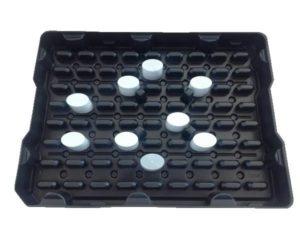 Fabricant de plateau thermoformé secteur cosmétique, plateau pour chaîne robotisée